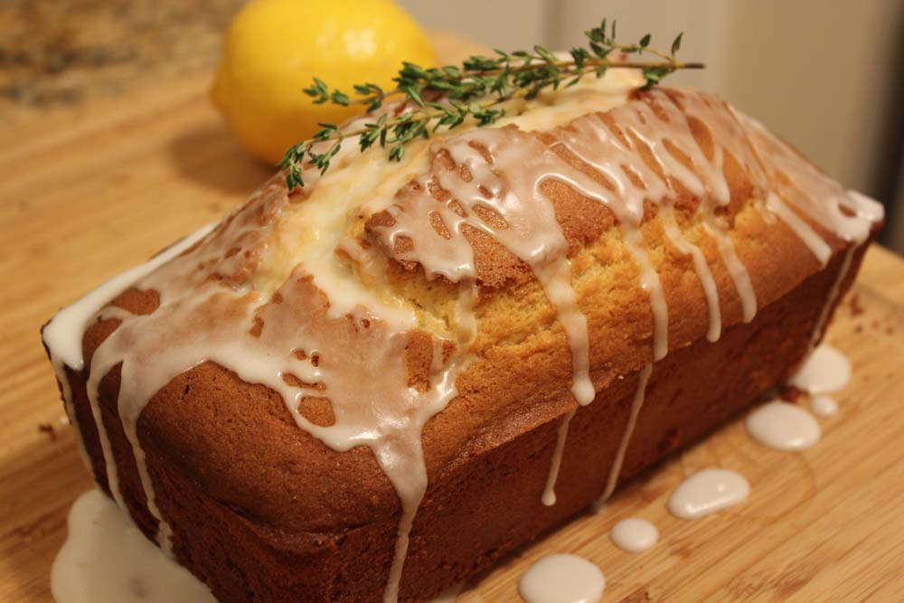 Lemon and Thyme Bread